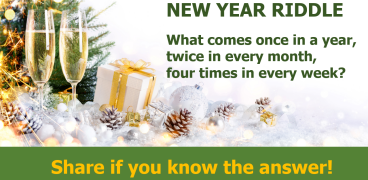 New year riddle